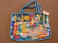 Harrods Handbag Shopping Bag BRAND NEW BNWT
