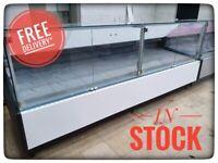 392cm Serve Over Counter Display Fridge N4112/13WH £4584+VAT CARMEN