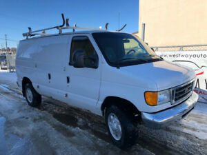 2007 FORD ECONOLINE E-350 SUPERDUTY JUST HAS 150908 KMS !
