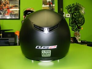3/4 Helmet with Sunvisor - Matte Black - XS to XL at RE-GEAR Kingston Kingston Area image 4