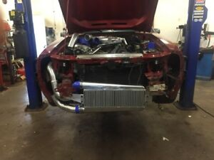 Air to Air Intercooler for Fox Mustang or?
