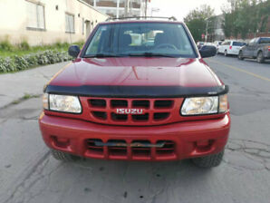 2001 ISUZU RODEO LS 4WD LOW MILEAGE NEGO.