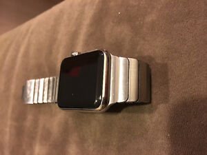 Apple Watch 42mm Stainless Steel Links PLUS Rubber Band