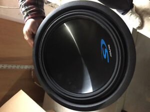 Car Stereo and sub