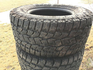 New 325 60R 18 Toyo Xtreme AT2 Tires. 10 Ply