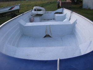 1997 Nordic 14ft boat Northtrail trailer 9.9 Yamaha possibly Kingston Kingston Area image 4
