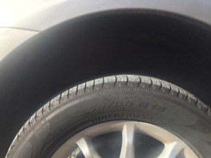 "2006 Mercedes Ml500 Aluminum Wheels and 18"" Tires"