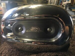 Sportster screaming eagle aircleaner with K&N filter.