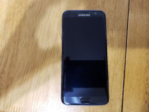 Samsung Galaxy S7 Edge in mint condition.
