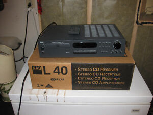 NAD L40 Receiver CD Player