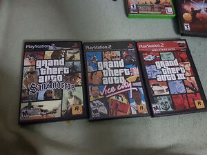 GTA Games for PS2