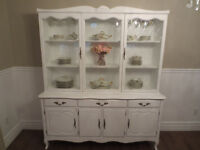 VAISSELLIER/ BUFFET VINTAGE CHABBY CHIC