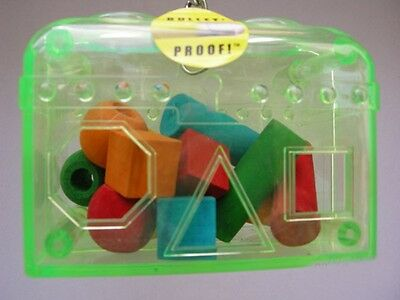 Lucky Bird Toys small  Treasure Chest   - parrot forging toy