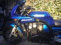 Yamaha Fazer FZS600 only 25000 miles