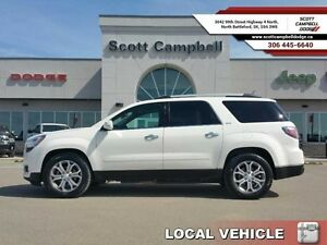 2013 GMC Acadia SLT-1   - local - trade-in - sk tax paid - Bluet