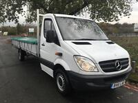 Mercedes Sprinter 313 3.5T Dropside Extra Long 19ft 10in (6m) Load Length