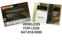 NEW ORIGINAL DREAM TECH HD DIGITAL FTA SAT RECEIVER LINUX +LS500