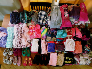 Massive lot of girls clothing size 12mths to 24mths