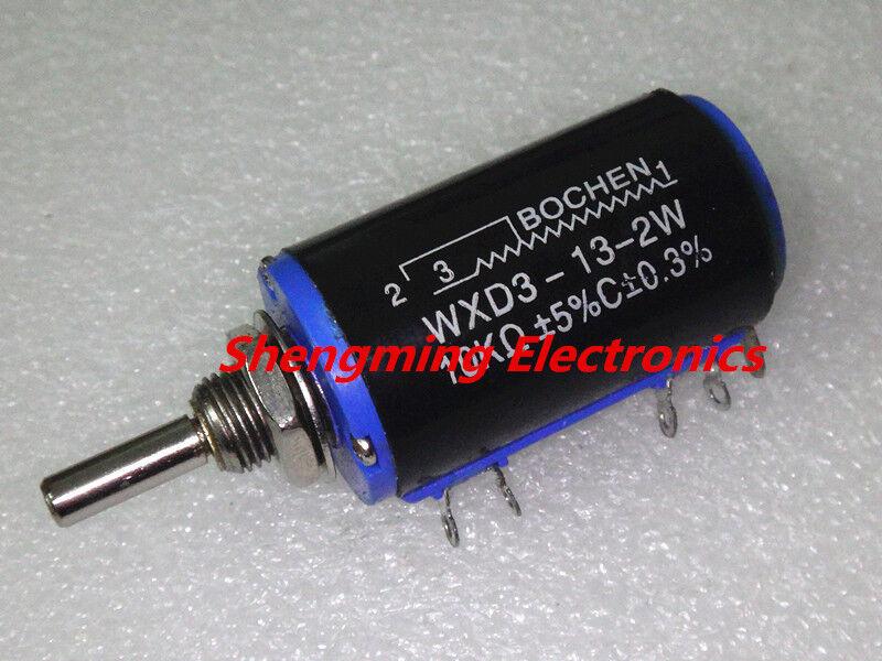 2 pcs WXD3-13-2W 4.7K Ohm Multi-Turn Wirewound Potentiometer 4K7