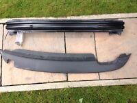 Golf Mk6 Rear Bumper Bar and valance