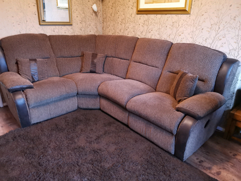 La-Z-boy corner recliner sofa. Cost £2400 new. | in Yardley, West Midlands  | Gumtree