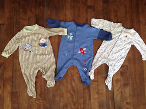 Lot de 100 morceaux de linge pour bébé garçon (0-24 mois)