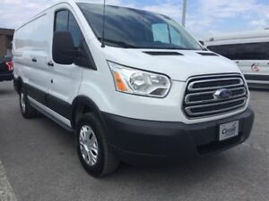 "Ford Transit Cargo Van T-250 130"" Low Rf 9000 GVWR Swing-Out RH"
