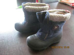 bottes d'hiver grandeur 8