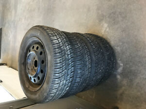 """15"""" All season Tire and Wheel Package"""