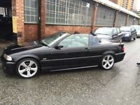 Very nice BMW 325 M sport Automatic Convertable for sale or SWAP