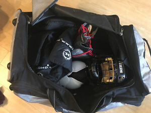 Full Hockey gear for young female (with jill strap) or male