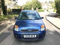 2008 Ford Fusion Plus 1.6 Petrol Automatic 5 Door Hatchback Blue 2 Keys