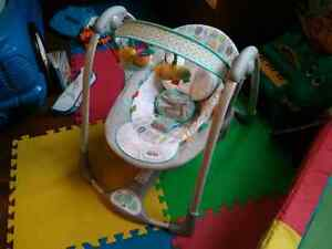 Taggies battery powered swing