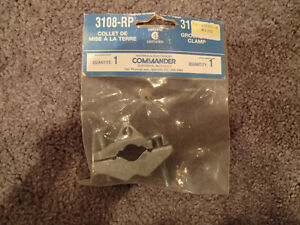 "NEW 3108-RP Grounding Clamp 10-2 AWG Ground Cable to a 1/2"" to 1"