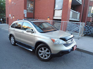 2009 HONDA CR-V EX-L , LEATHER ,SUNROOF ,SIDE STEP BARS ,ALLOYS!