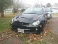 2002 Dodge Neon with SRT4 body parts - AS IS WHERE IS