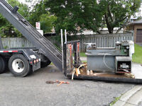 INDUSTRIAL COMMERCIAL MOVING, FLATBED TRUCKING
