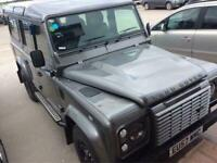 Land Rover Defender 110 2.4 TDi XS 4X4 5dr HEATED PART LEATHER SEATS MUD FLAPS