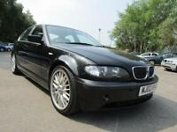 BMW 3 SERIES 330d SE M-SPORT, Black, Auto, Diesel, 2002 MOT- 29-06-2017