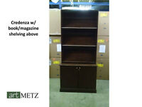 Credenza W/ Magazine Shelving(NEED TO SELL ASAP)