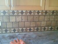 Backsplashes Finish Kitchen/Bath Reno's