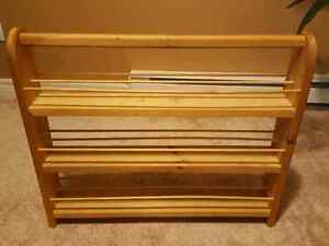 Wooden Paint Caddy