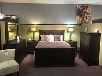 Solid wood bedrooms handstone and vokes canadian made