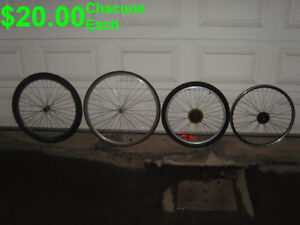 Roues De Bicycle---Bicycle Wheels.