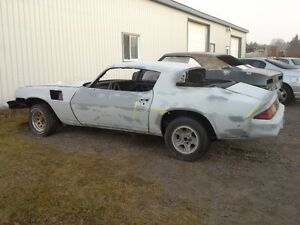1979 Camaro Z28 Restoration car 80% complete