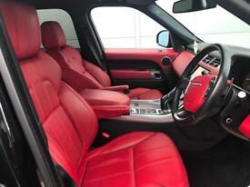 63 reg Land Rover Range Rover Sport 3.0SD V6 HSE DYNAMIC + BLACK + RED LEATHER
