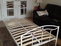 Next Single metal bed frame