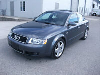 2004 Audi A4 V6 3.0L Only 97000KMS Excellent Condition