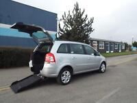 Vauxhall Zafira 1.7CDTi 16v ecoFLEX 110ps Exclusiv Wheelchair access WAV