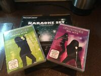 New Karaoke Set and Two Hits Discs